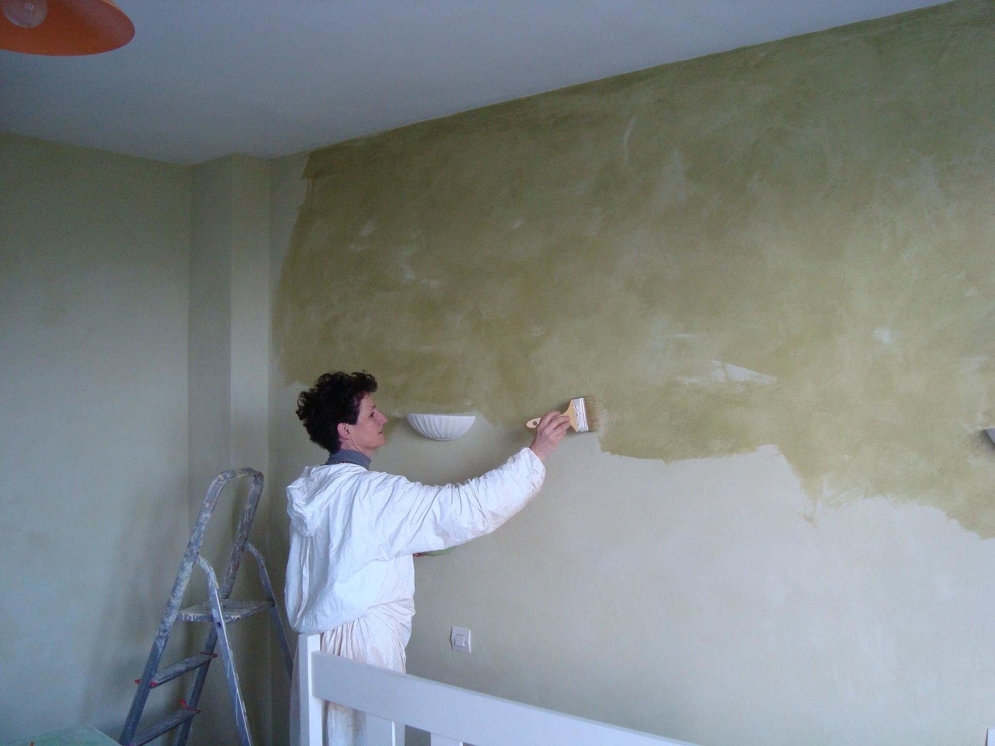 Peinture salle de bain etanche for Badigeons de chaux interieur