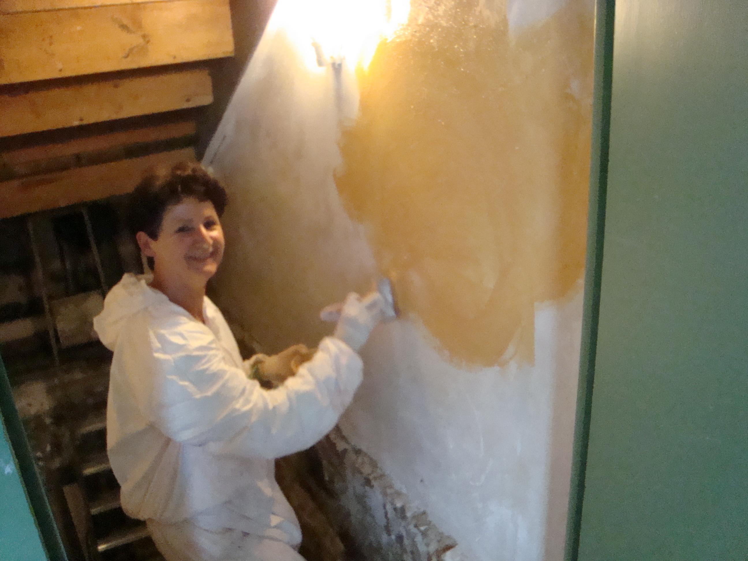 Parfait Stage De Peinture Et Enduits à La Chaux Le10 Novembre à Carantec
