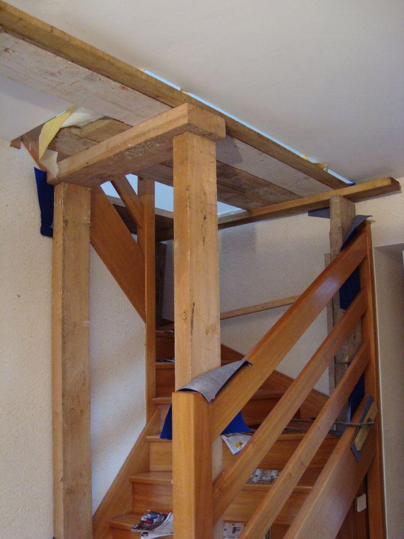 Le blog d 39 ambiance deco conseil en d coration d 39 int rieur - Echafaudage pour cage d escalier ...